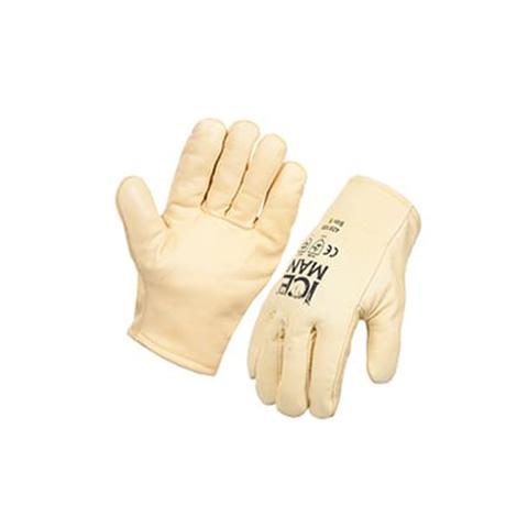 Iceman Rigger Freezer Glove Furlined Premium Yellow Rigger Large 10