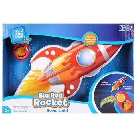 Uncle Milton In My Room™ Big Red Rocket Room Light 1 item
