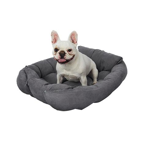 Pet Bed Dog Cat Soft Warm Kennel Sofa Medium Pink 1 item