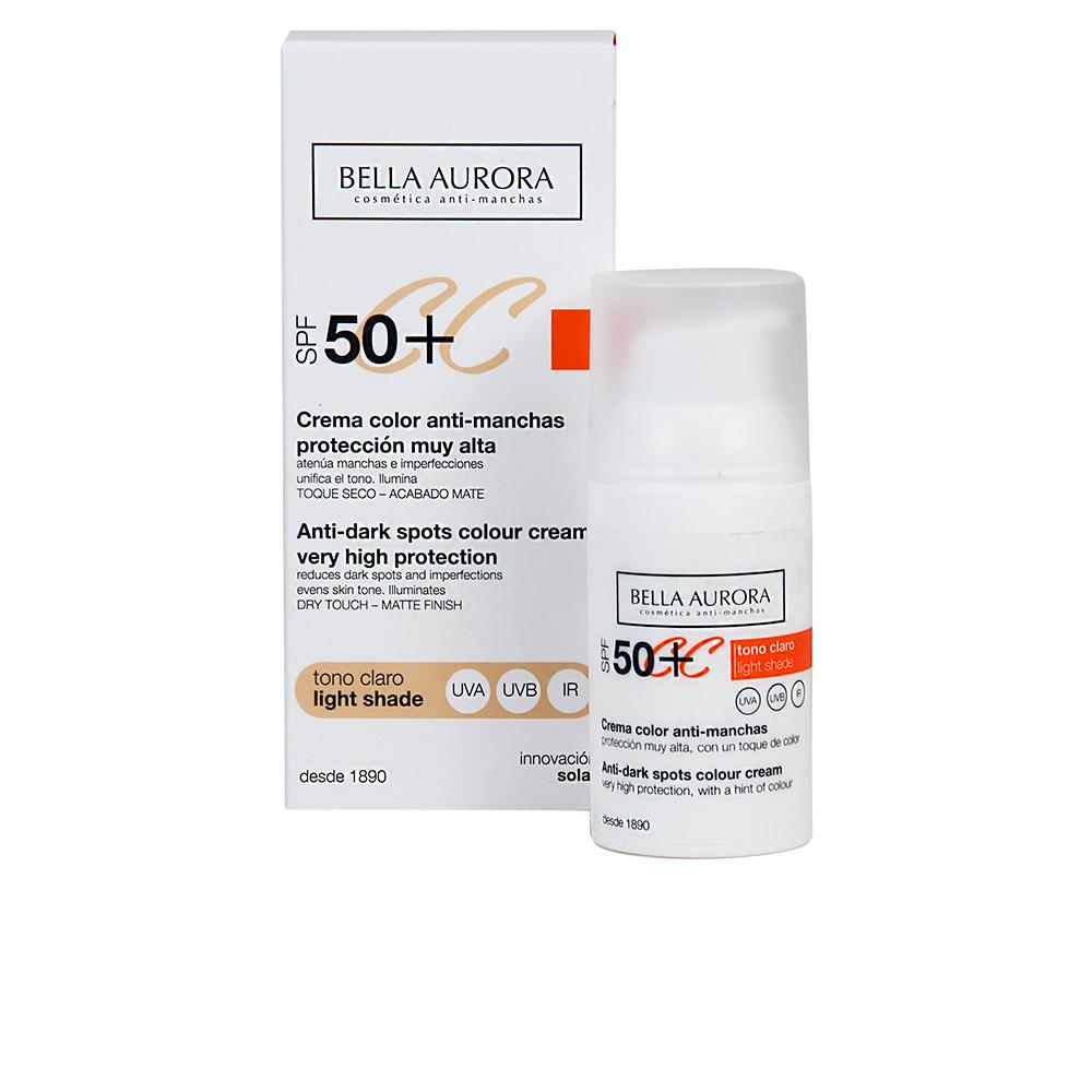 Bella Aurora Cc Cream Anti-manchas Tono Claro Spf50+ 30 Ml