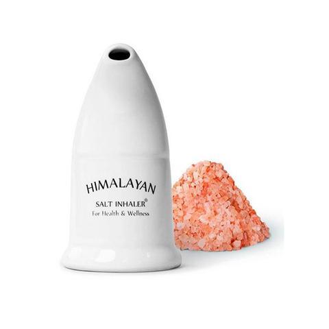 Bulk Himalayan Salt Inhaler Pipes and 125g Pink Rock Coarse Salt 1 item