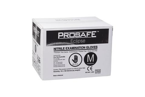 Black Nitrile (pro-safe N-tek) Gloves - Tga Approved Small