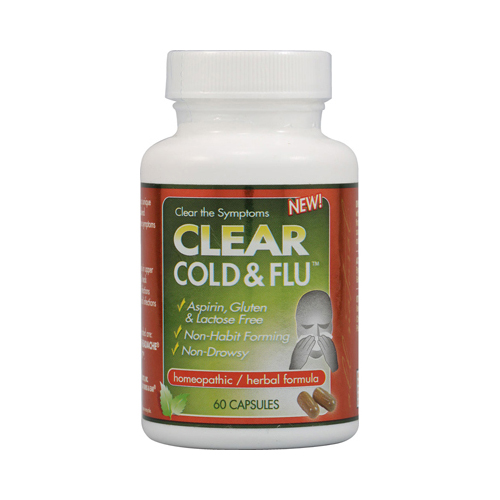 Clear Products Clear Cold and Flu (60 Capsules)
