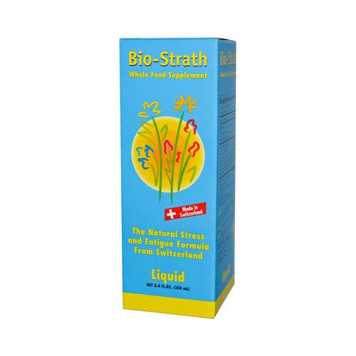 Bio-strath Whole Food Supplement Stress and Fatigue Formula Liquid (8.4 Fl Oz)