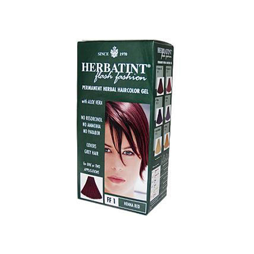 Herbatint Haircolor Kit Flash Fashion Henna Red Ff1 (1 Kit)