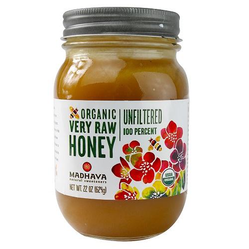 Madhava Raw Honey (6x22oz )