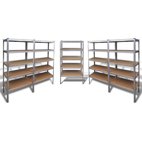Heavy-duty Storage Racks (5 Pcs) 1 item