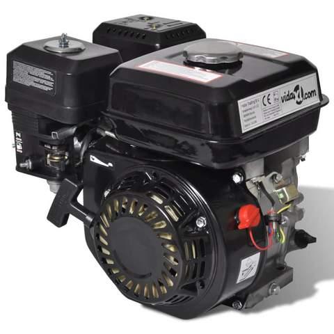 Petrol Engine 6.5 Hp 4.8 Kw Black 1 item