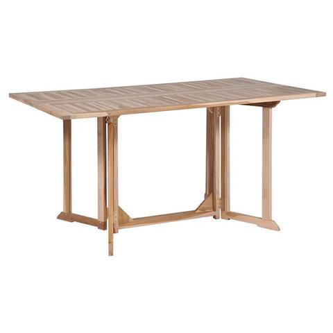 Folding Butterfly Garden Table 150x90x75 Cm Solid Teak Wood 1 item