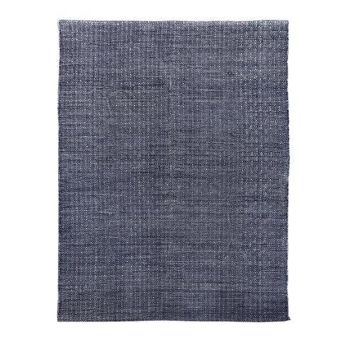 Brinley Stonewashed Cotton Rug 160x230cm Indigo 1 item
