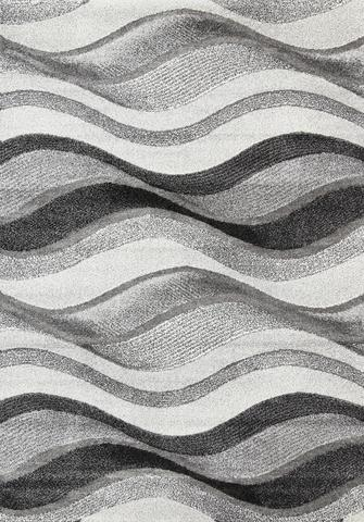Vision Waves Grey Rug 160x230 cm