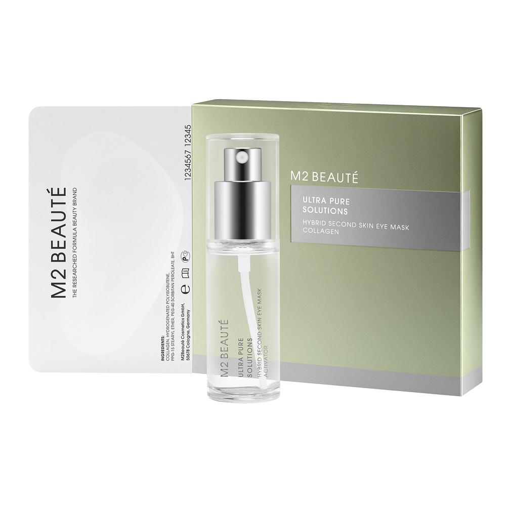 M2 Beauté Hybrid Second Skin Eye Mask Collagen 7 Aplicaciones