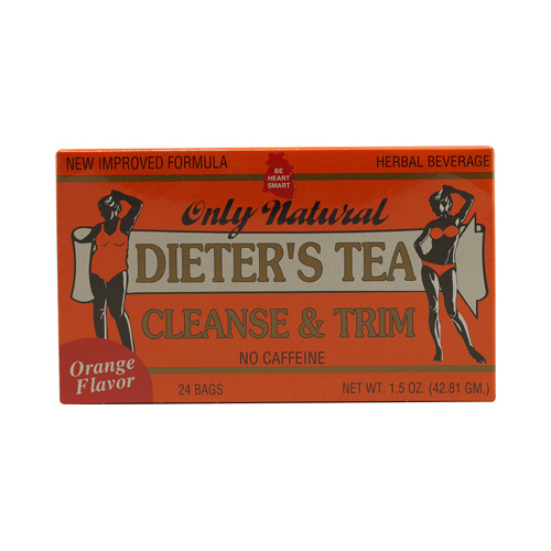 Only Natural Dieter's Tea Cleanse and Trim Orange (1x24 Tea Bags)