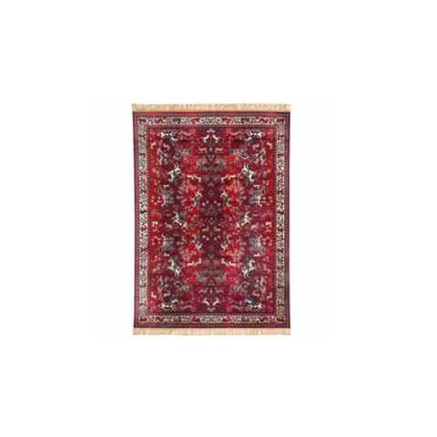 Chiraz Red Silky Rug 68 x 105 cm