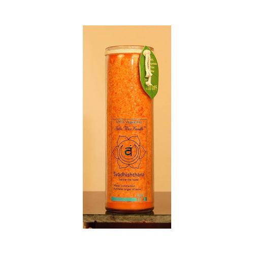 Aloha Bay Unscented Chakra Jar Love Svadhishthana Orange (1 Candle)