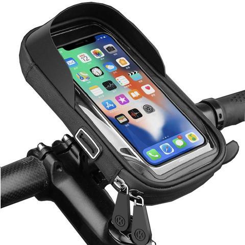 Waterproof Bicycle Phone Holder Stand black 1 item