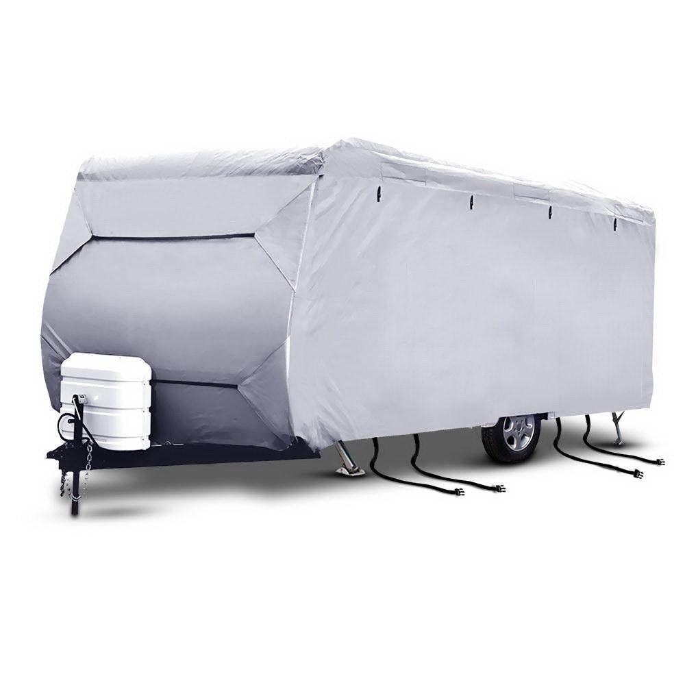 Weisshorn 20-22ft Caravan Cover Campervan 4 Layer Uv Water Resistant