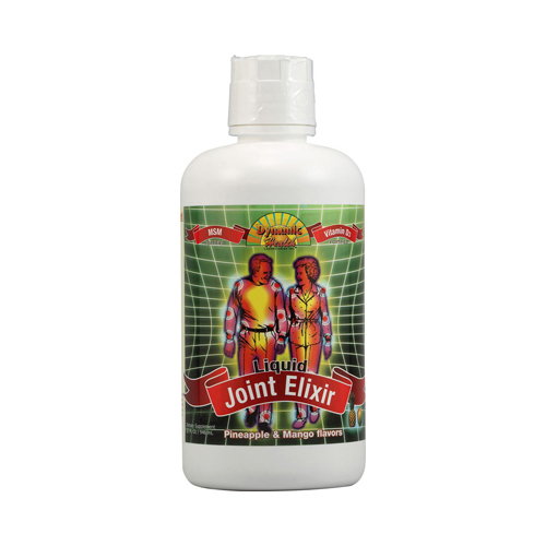 Dynamic Health Liquid Joint Elixir With Msm Pineapple and Mango (32 Fl Oz)