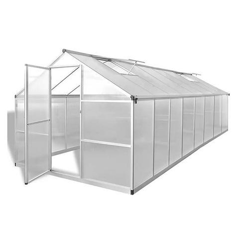 Greenhouse Aluminium 481x250x195 Cm 1 item