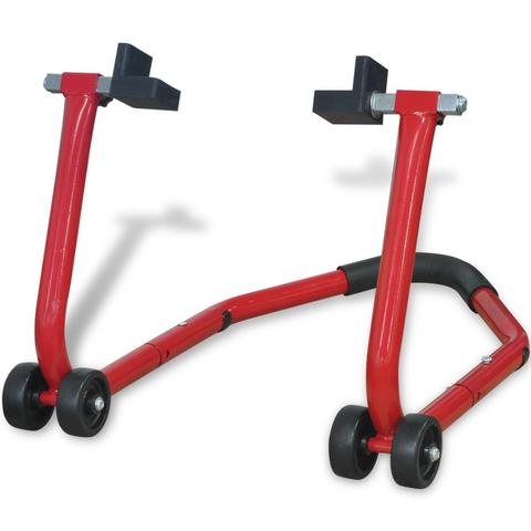 Motorcycle Rear Paddock Stand - Red 1 item