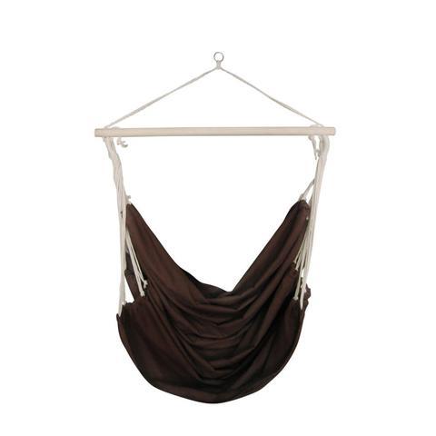Fabric Swing Chair or Hammock Large - Brown 1 item