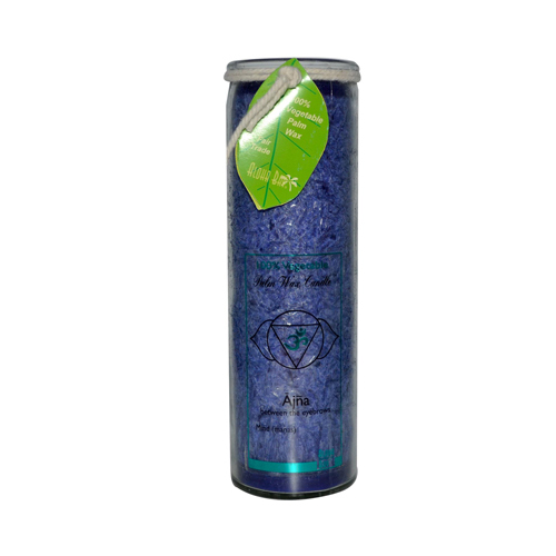 Aloha Bay Unscented Chakra Jar Abundance Indigo (1 Candle)