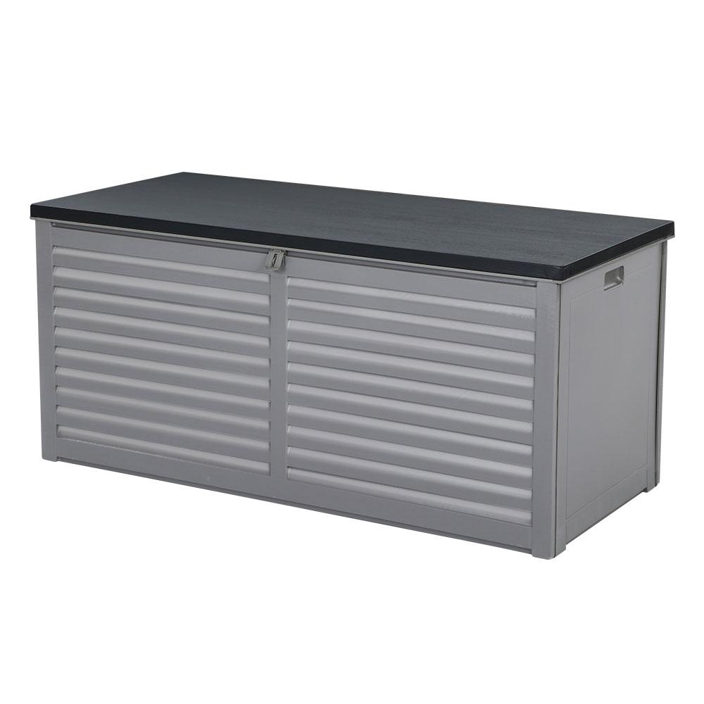 Gardeon Outdoor Storage Box Bench Seat Garden Sheds Chest 490l