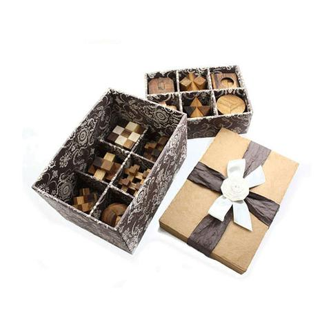 12 Puzzles Deluxe Gift Box Set 1 item