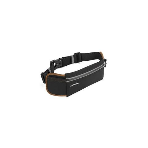 Sport Running Waist Pack Waterproof Belt Black 1 item