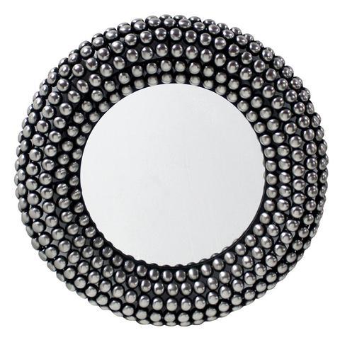 Valentina Mirror 66cm Antique Silver 1 item