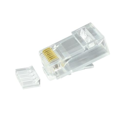 Serveredge Rj45 Cat6 Unshielded Plug - Suitable for Solid and Stranded Cables - Pack of 50 1 item