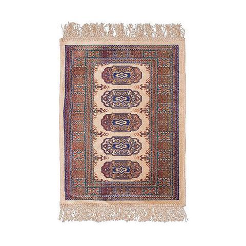 Chiraz Beige Silky Rug 035 x 35 cm