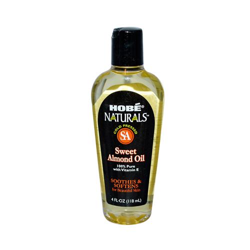 Hobe Labs Hob_ Naturals Sweet Almond Oil (4 Fl Oz)
