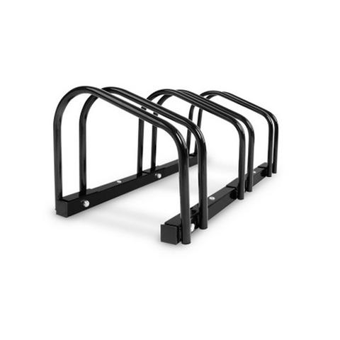 Portable Bike Parking Rack Bicycle Instant Storage Stand Black 3-rack