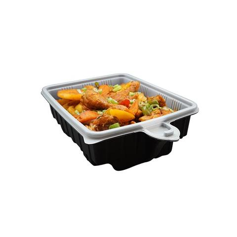 33cm Heating Lunch Box Container Rectangle Plus Heating Bag 1 item