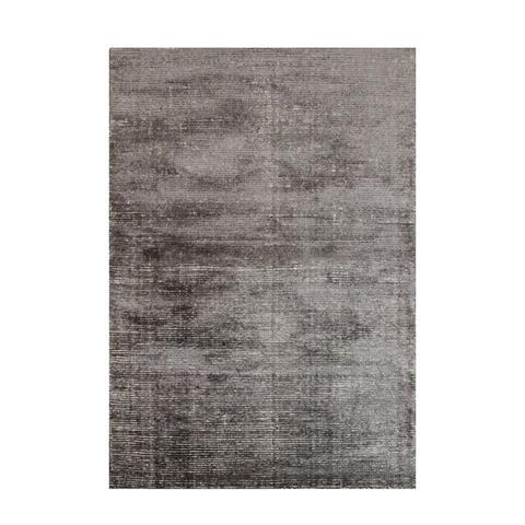 Hampton Grey White Wool Rug 200 x 290 cm