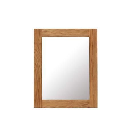 Mirror Solid Oak Wood 40 x 50 cm