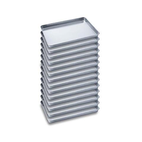 Soga 14x Aluminium Oven Baking Pan Tray For Baker Gastronorm 60x40x5cm 1 item