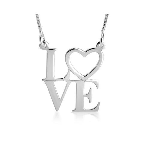 Love Pendant Necklace 1 item