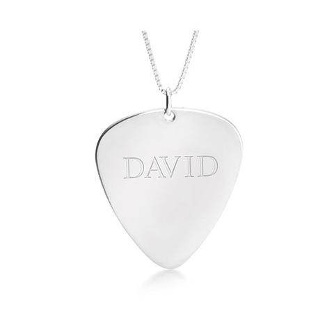 Custom Guitar Pick Necklace 1 item