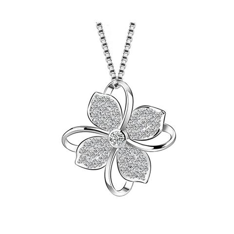 Flower Pendant Necklace 1 item