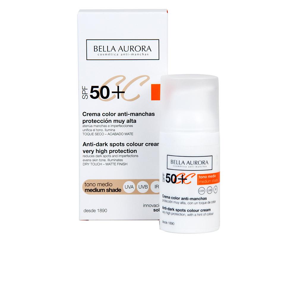 Bella Aurora Cc Cream Anti-manchas Tono Medio Spf50+ 30 Ml