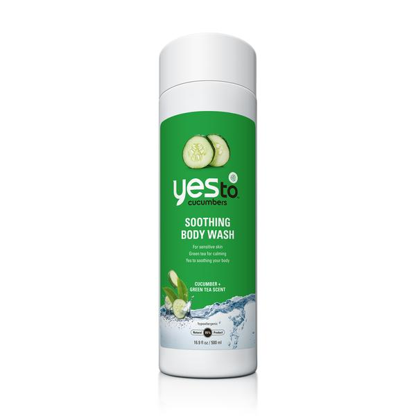 Yes To Cucumbers Soothing Body Wash (1x16.9 Oz)