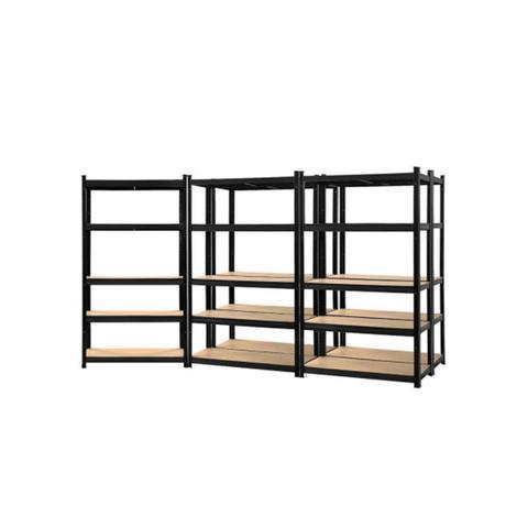 5 Pcs Warehouse Garage Storage Racking Steel Metal Shelves 1 item