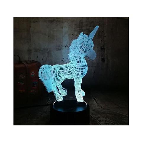 3d Colour-changing Lamp - 5 Designs 1 item