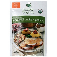 Simply Organic Roasted Turkey Gravy Seasoning Mix (12x0.85oz)