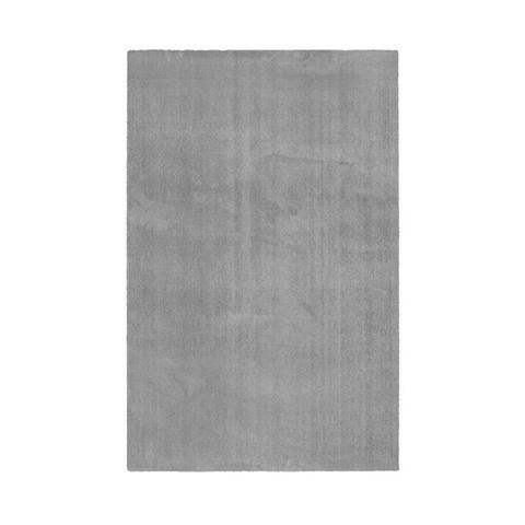 Comfy Light Grey Polyester Rug 240 x 340 cm
