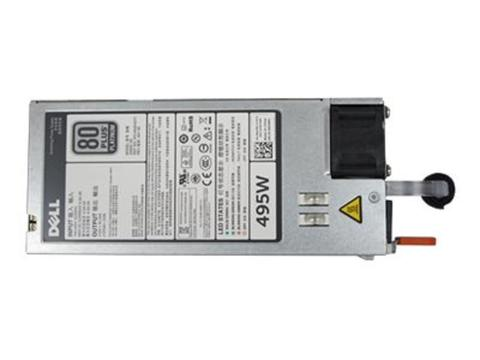 Dell Single Hot-plug Power Supply (1+0) 495w Cuskit 1 item