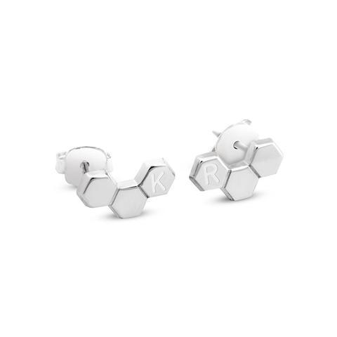 Hexagon Earrings 1 item