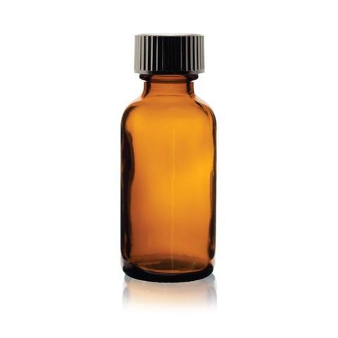 1x Amber Glass Drop Bottle 100ml